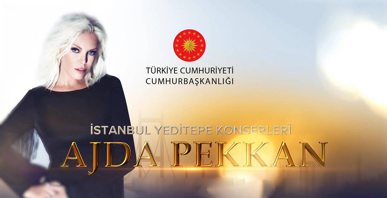 Öğrenci Kariyeri: İstanbul Yeditepe Konserleri-Ajda Pekkan