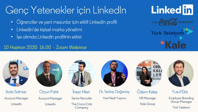 Öğrenci Kariyeri: Genç Yetenekler için Linkedln Etkinliği