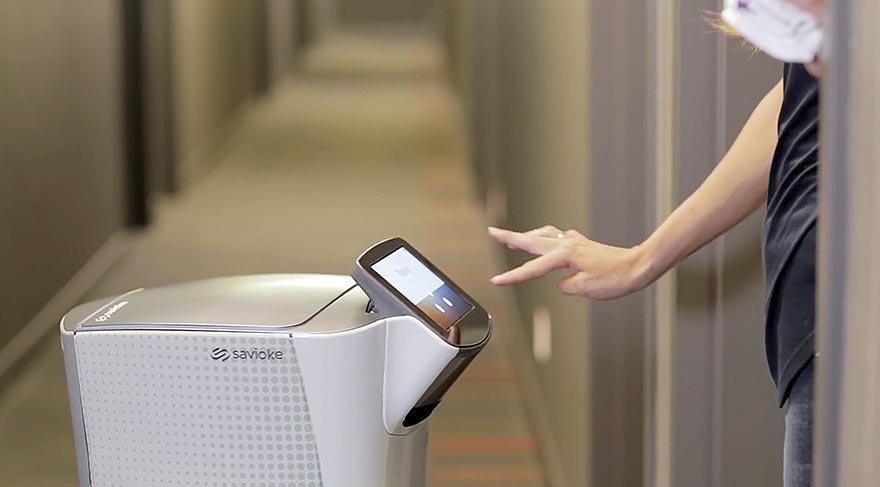 Öğrenci Kariyeri - : Yeni Uygulama: Oda Servisi Robotları