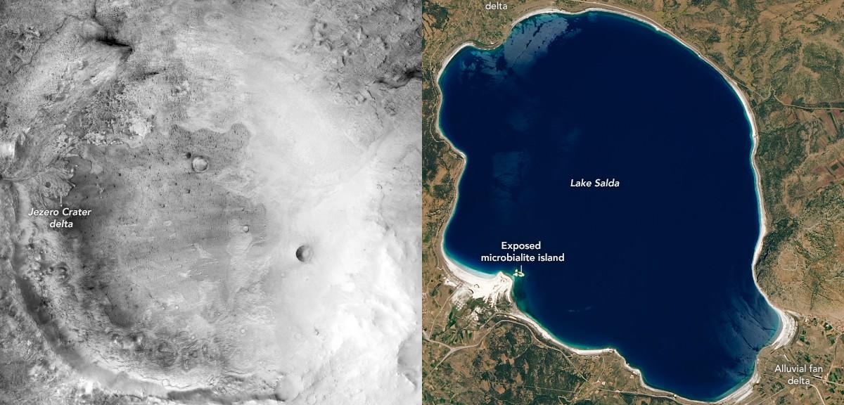 Öğrenci Kariyeri - Gündem: NASA, Mars'a Uzay Aracını Göndermeden Önce Salda Gölünü İnceledi