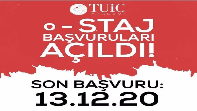 Öğrenci Kariyeri - Staj (Uzun Dönem & MT), Staj (Kısa Dönem): TUİÇ Akademi Online Staj Programı Başvuruları Başladı!