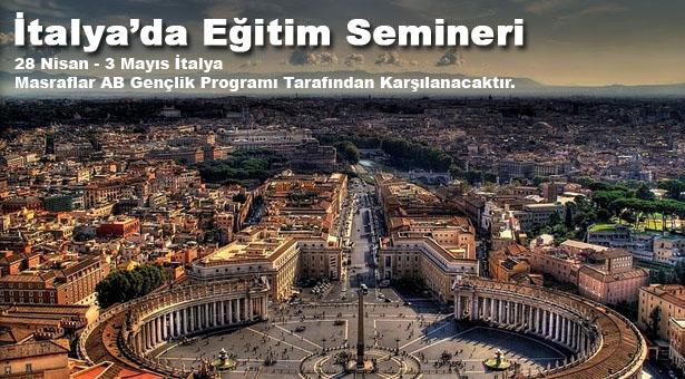 İtalya'da Eğitim Semineri