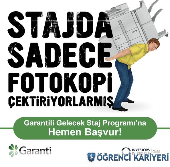 Garanti Bankası Staj Programı