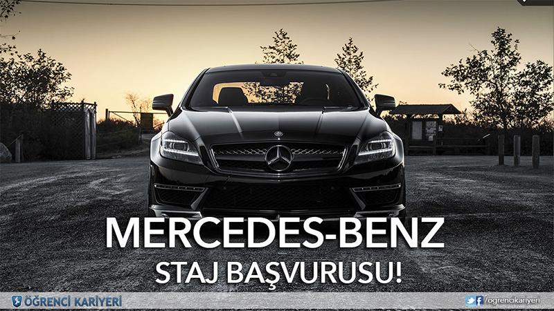 Öğrenci Kariyeri - Staj (Kısa Dönem): Mercedes-Benz Staj Başvurusu!