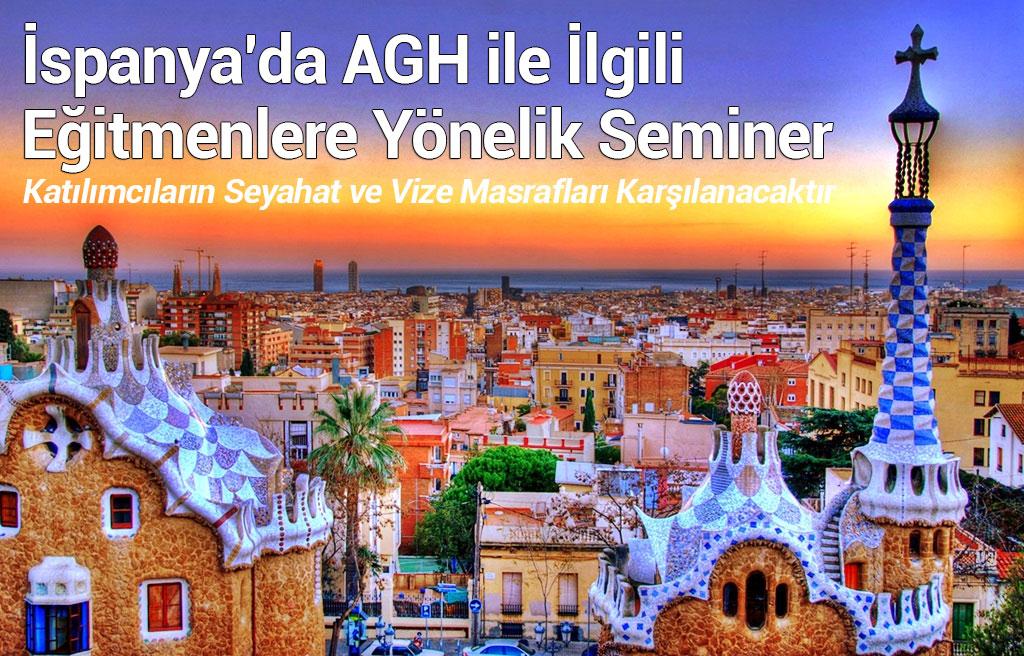 İspanya'da AGH ile İlgili Eğitmenlere Yönelik Seminer