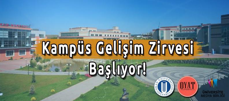 Öğrenci Kariyeri - : Kampüs Gelişim Zirvesi Okan Üniversitesi'nde!