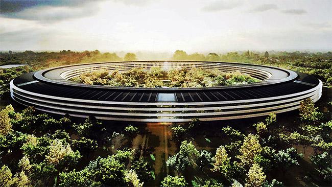 Steve Jobs'ın Temelini Attığı Yeni Apple Kampüsünün İnşaatı Son Aşamada [Video]