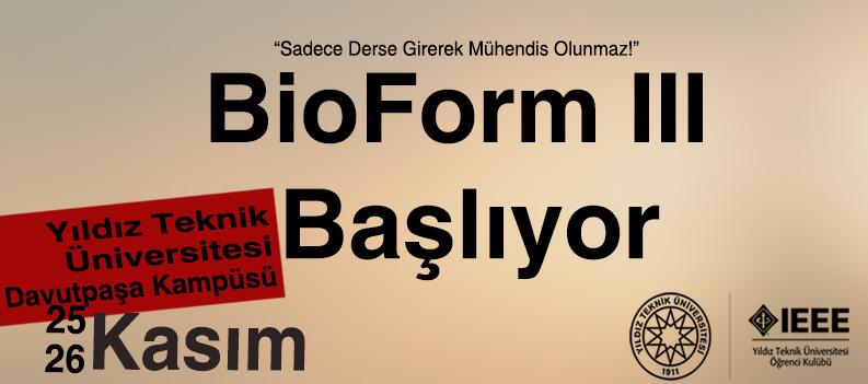 Öğrenci Kariyeri: BioForm Etkinliği 3.'sü İle Sizlerle