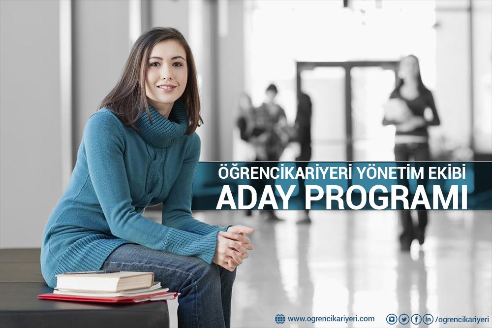ÖğrenciKariyeri Yönetim Ekibi Aday Programı