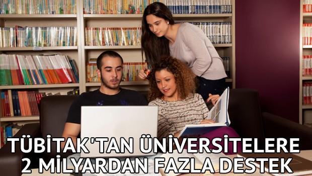 TÜBİTAK'tan Üniversitelere 312 Milyondan Fazla Destek