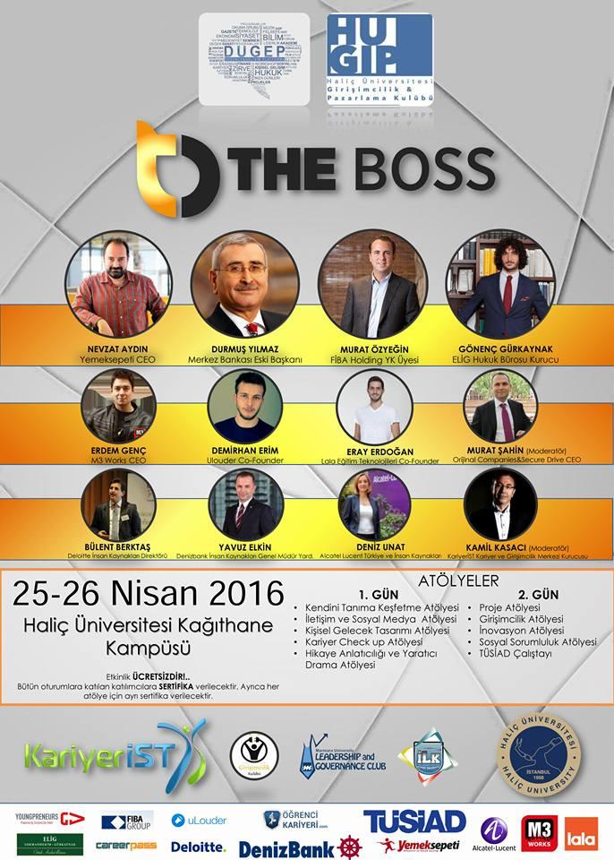 The Boss Etkinliği Haliç Üniversitesi