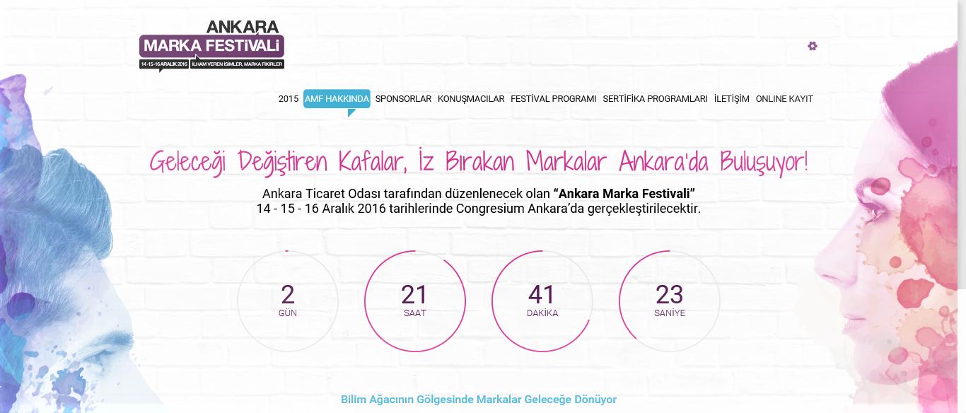 Öğrenci Kariyeri - Üniversite Etkinlikleri, Sertifika Programları: Ankara Marka Festivali 14-15-16 Aralık'ta!