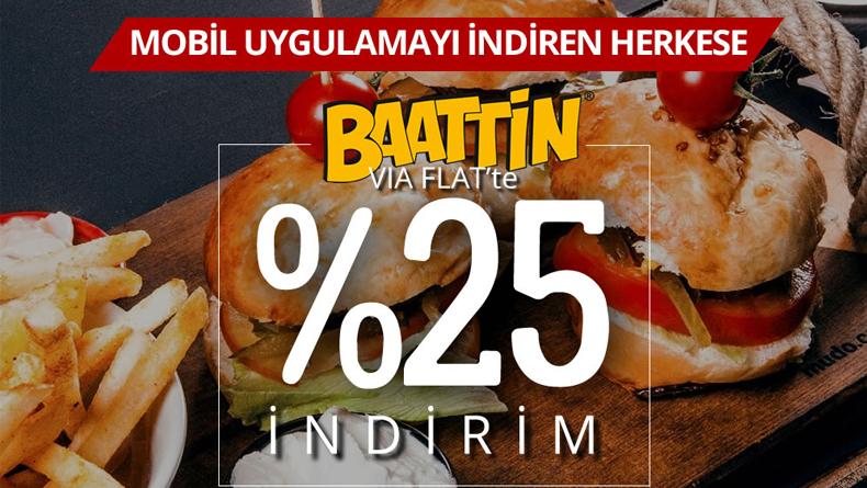 Öğrenci Kariyeri - Gündem, Kampanya: ÖğrenciKariyeri Mobil Kullanıcılarına Baattin Cafe'de %25 İndirim!