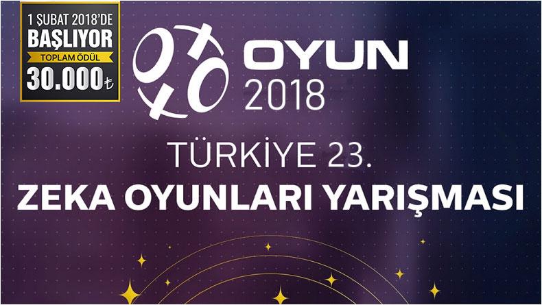 Öğrenci Kariyeri: Türkiye 23. Zeka Oyunları Yarışması Başladı!