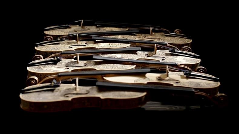 Enstrümanları Yeniden Sanat Eserine Dönüştüren Adam: Leonardo Frigo