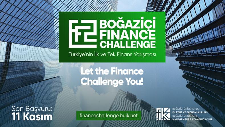 Öğrenci Kariyeri: Boğaziçi Finance Challenge İçin Başvurular Başladı