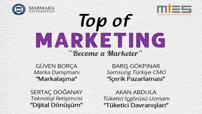 Öğrenci Kariyeri - : Heyecanla Beklenen Etkinlik: Top of Marketing