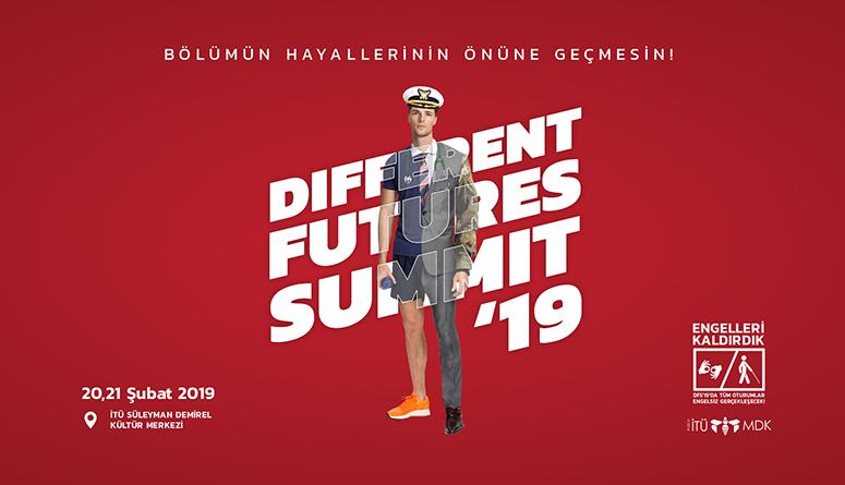 Öğrenci Kariyeri: Different Futures Summit Birbirinden Önemli Konuşmacılarıyla 20-21 Şubatta İTÜ'de!