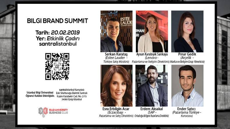 Öğrenci Kariyeri - : Markanın Gücüne İnanan Etkinlik: Bilgi Brand Summit