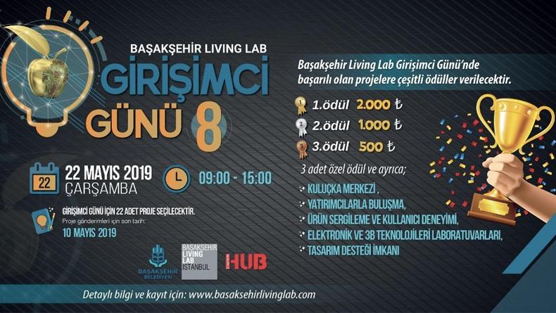 8. Başakşehir Living Lab Girişimci Yarışması (Son Gün 10 Mayıs!)
