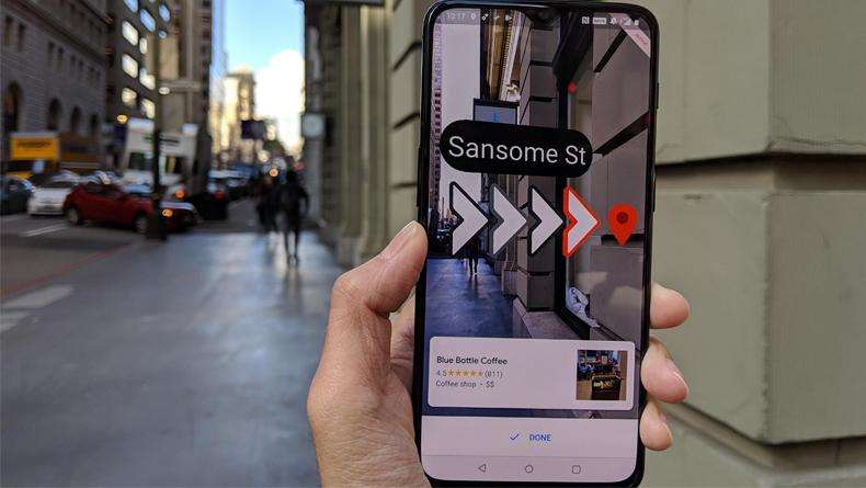 Google Maps AR ile Yeni Nesil Navigasyon