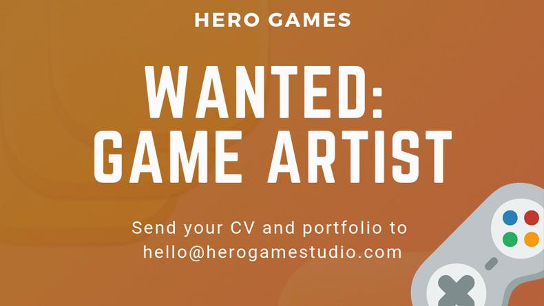 Öğrenci Kariyeri - Staj (Kısa Dönem), İş (Yeni Mezun): Game Artist İş İlanı