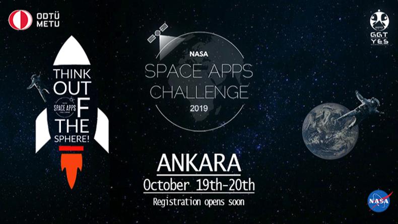Öğrenci Kariyeri - Kültür & Sanat, Yarışmalar: NASA, ODTÜ'de Space Apps Hackathon Etkinliği Düzenliyor!