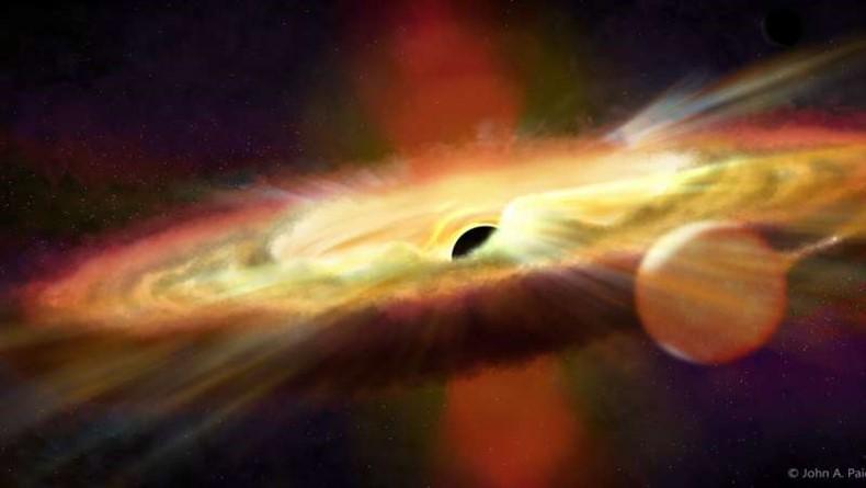 Galaksimizin Merkezindeki Kara Deliğin Renkli Filminin Çekimi Planlanıyor!
