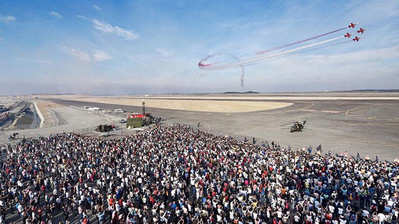 17-22 Eylül'de Atatürk Havalimanı'nda TEKNOFEST Heyecanı