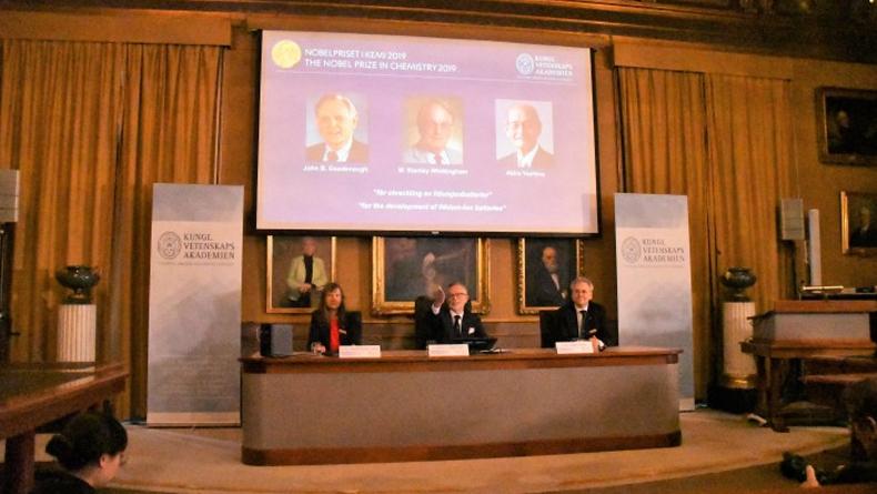 2019 Nobel Kimya Ödülünün Sahibi Belli Oldu: Lityum-İyon Pilleri