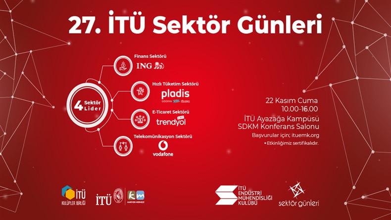 """Öğrenci Kariyeri - : 27. İTÜ Sektör Günleri Bu Sene De """"4 Sektör 4 Lider"""" Konseptiyle Sizlerle!"""