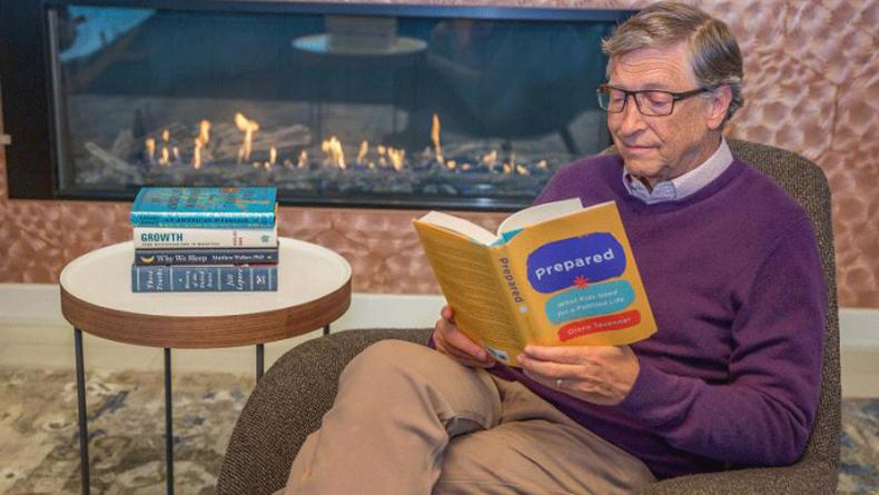 """Öğrenci Kariyeri - Kültür & Sanat, Gündem: 2019 Yılının En İyi Beş Kitabını """"Bill Gates"""" Açıkladı"""