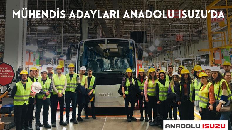 Öğrenci Kariyeri - : Mühendis Adayları Anadolu ISUZU'da!