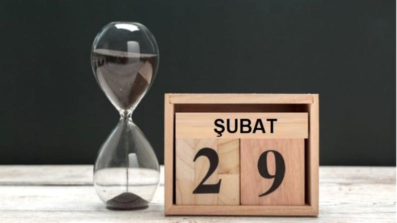 29 Şubat (Artık Yıl)