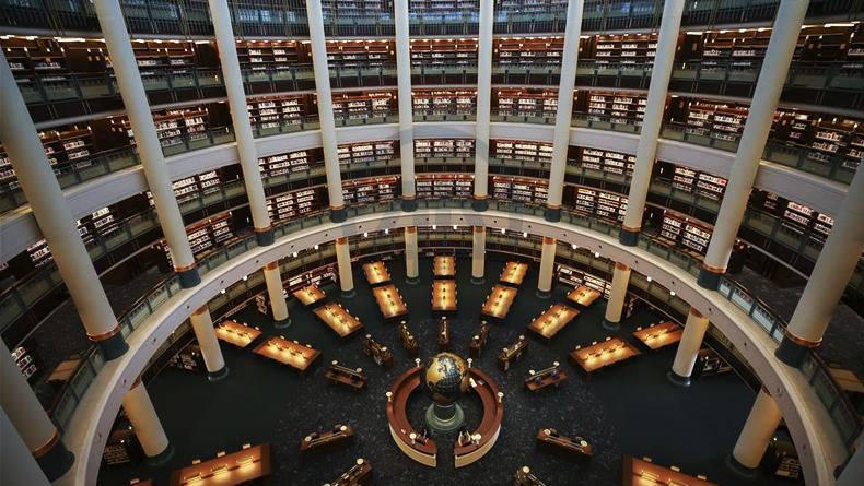 Öğrenci Kariyeri - Gündem, Kültür & Sanat: Türkiye'nin En Büyük Kütüphanesi, Cumhurbaşkanlığı Millet Kütüphanesi Açıldı.