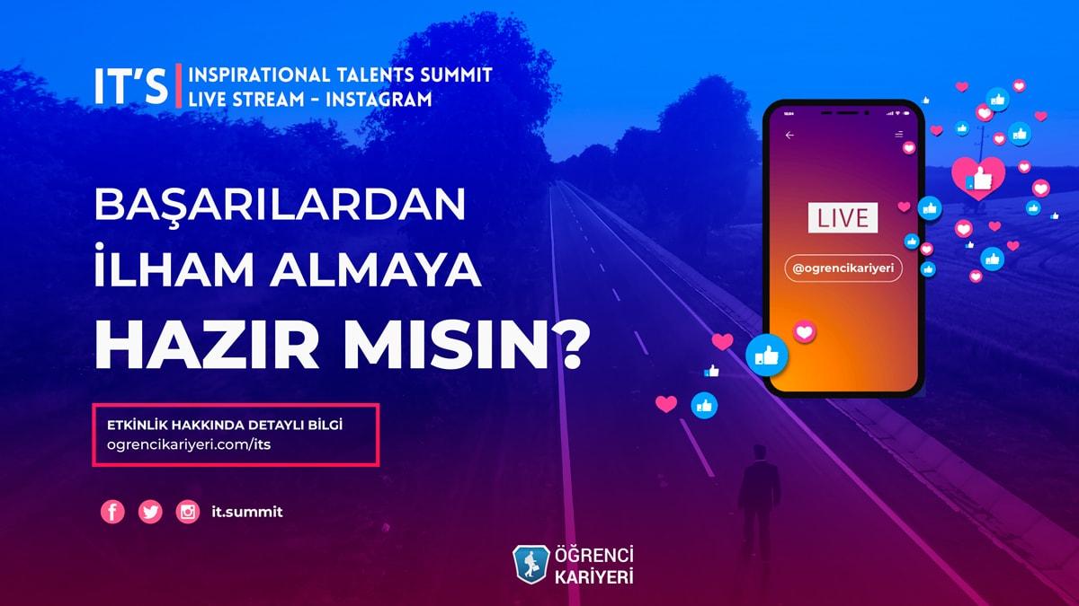 Öğrenci Kariyeri: Inspirational Talents Summit Başlıyor!
