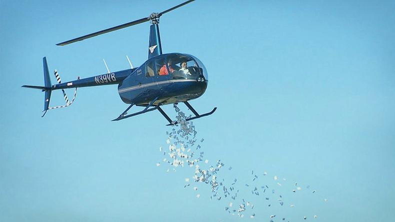 Öğrenci Kariyeri - : Nedir Bu Helikopter Para