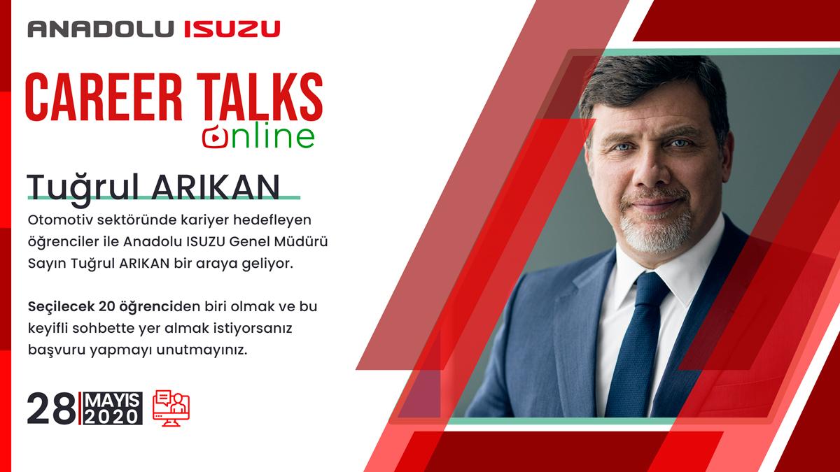 20 Öğrenci İle Anadolu ISUZU Genel Müdürü Online'da Buluşuyor!