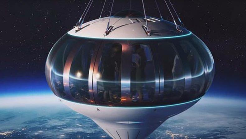 Uzayda Bir Gezintiye Var Mısınız?