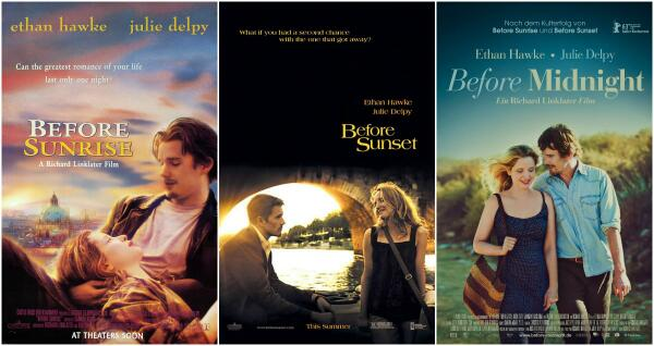 Öğrenci Kariyeri - : 3 Film, 2 Hayat, 1 Aşk Hikayesi : Before Sunset Serisi
