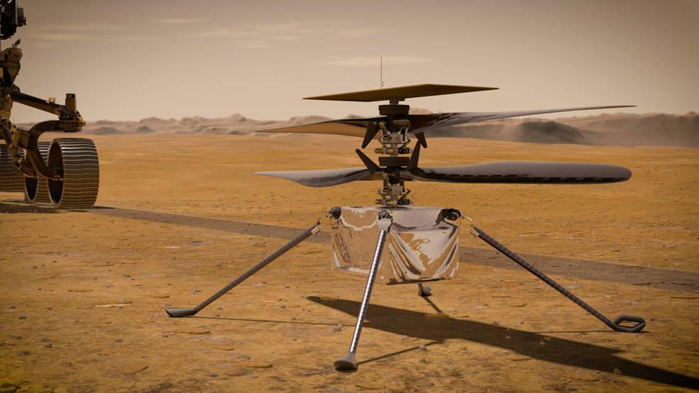 Öğrenci Kariyeri - Teknoloji & Bilim: NASA Tarafından Mars'a Gönderilen Helikopter: Ingenuity