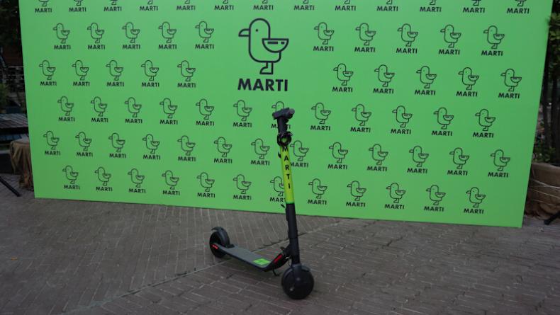 Yeni Dönem Elektrikli Scooter Kiralama Markası MARTI'nın Milyon Dolarlık Yatırımı