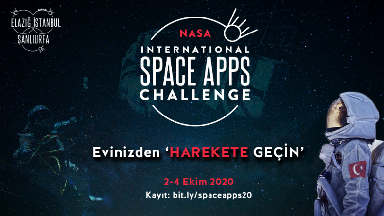 Öğrenci Kariyeri: NASA International Space Apps Challenge 2020 Başlıyor!
