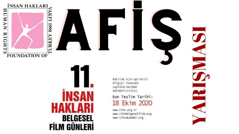 Öğrenci Kariyeri: TİHV 11. İnsan Hakları Belgesel Film Günleri Afiş Tasarlama Yarışması