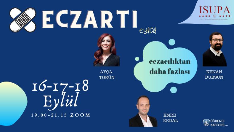 Öğrenci Kariyeri: Eczacılıktan Daha Fazlası: EczArtı Eylül'de 3 Günlük Eğitim Programına Başlıyor