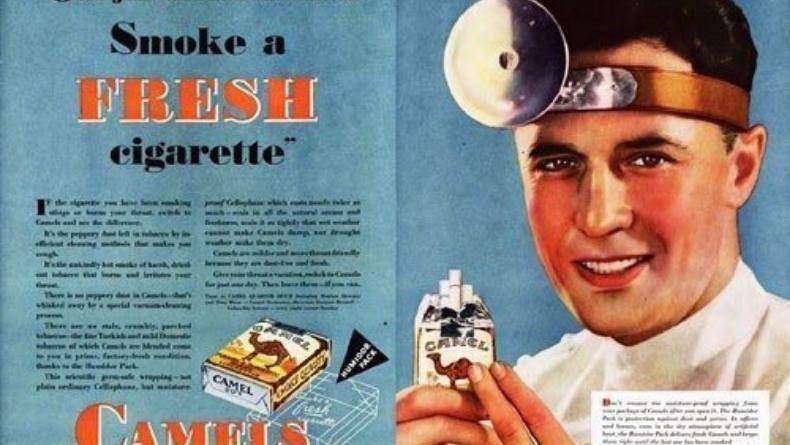 Öğrenci Kariyeri - : Reklamcılığın Sınırı Yoktur: İlk Sigara Reklamını Destekleyen Doktorlar