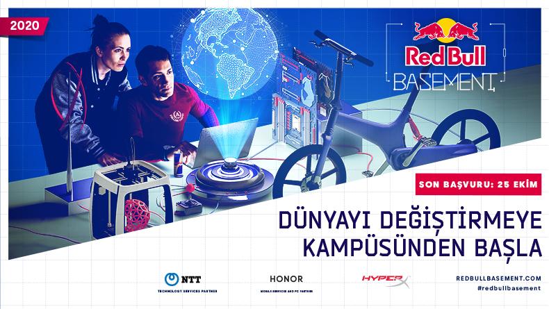 Öğrenci Kariyeri: Red Bull Basement Online Launchpad 18 Ekim'de Sizleri Bekliyor!
