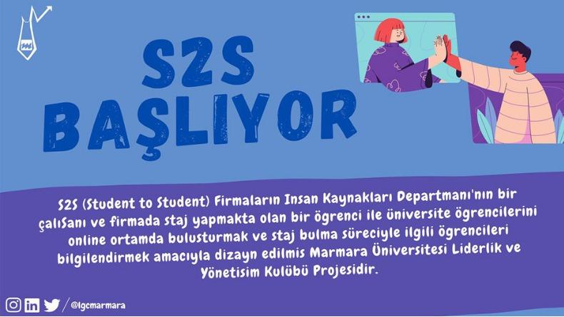 Öğrenci Kariyeri - En popüler - Marmara Üniversitesi Liderlik ve Yönetişim Kulübü S2S Etkinliği Başlıyor!