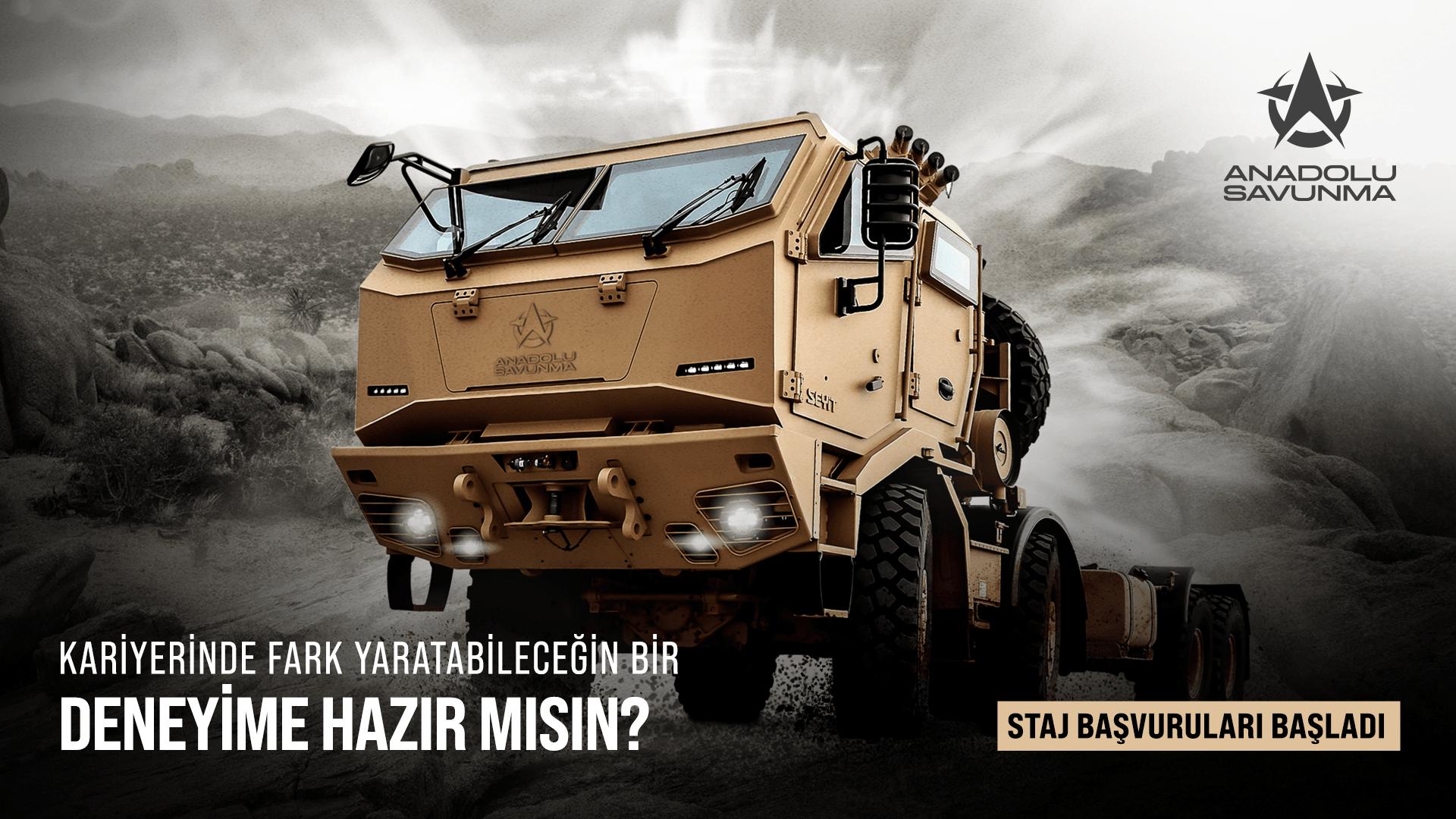 Anadolu Isuzu Savunma Sanayi Proje Stajyeri