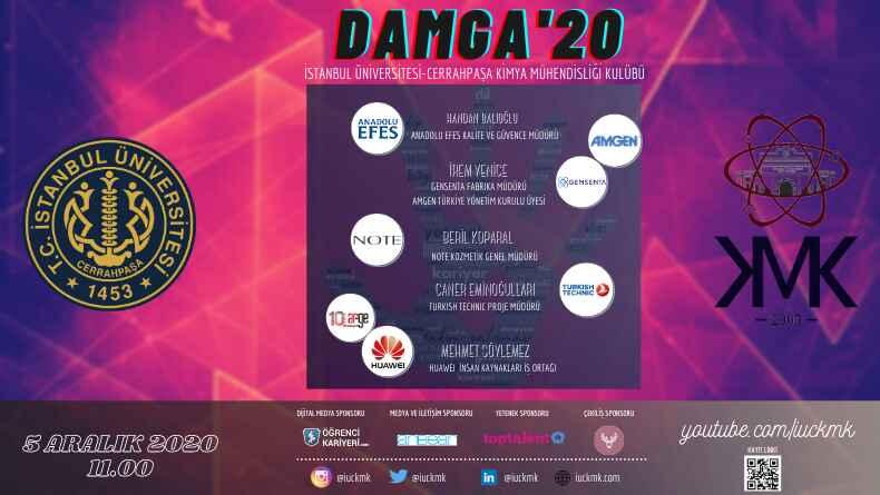 İstanbul Üniversitesi Cerrahpaşa Kimya Mühendisliği Kulübü Aralık'ta DAMGA Vurmaya Hazırlanıyor!